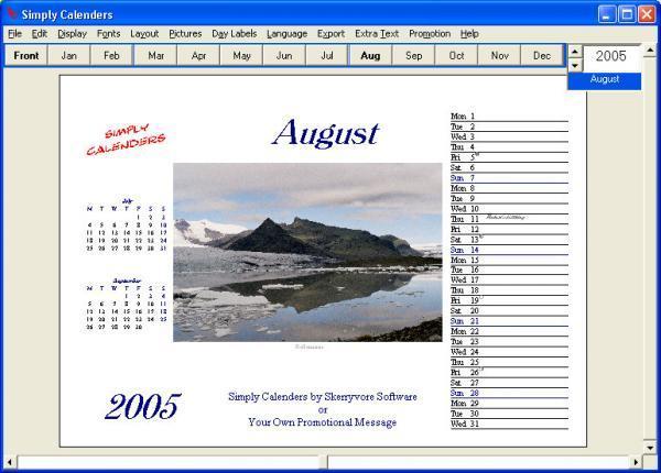 7 Most Inspiring Calendar Making Software
