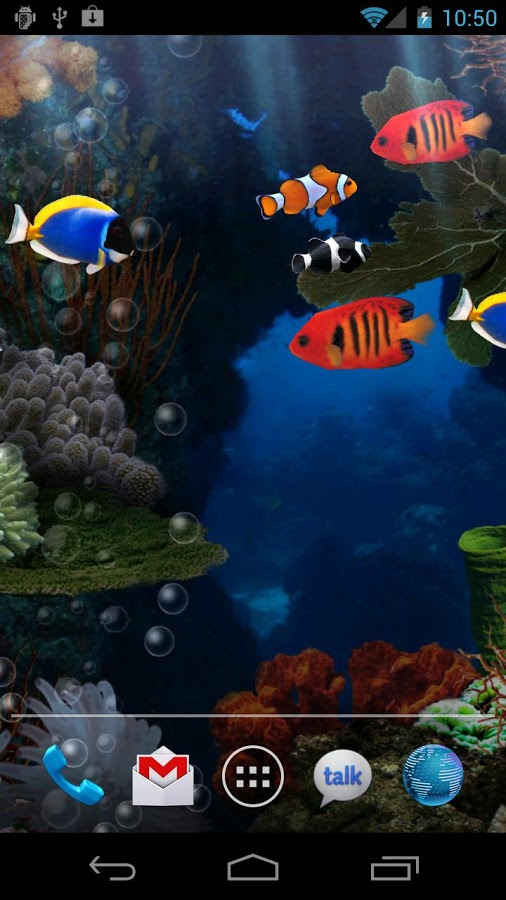 top 7 free aquarium live wallpapers for android