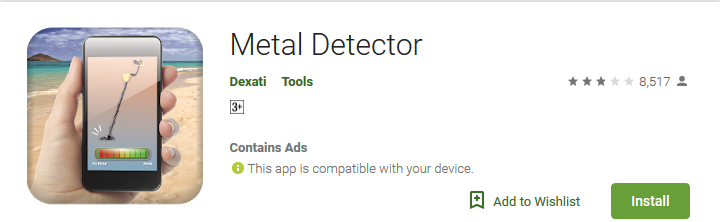 Top 7 Android Metal Detector Apps that Works Well (Updated 2019)