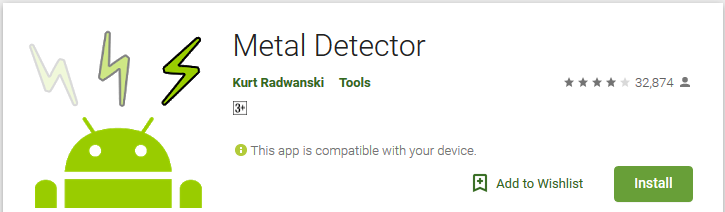 metal detecting apps android