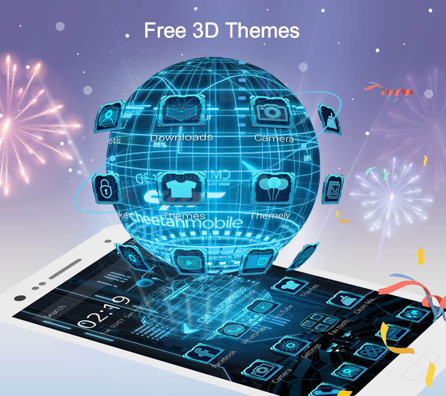 Top 7 Awesome 3D Launcher Apps For Android's Beauty
