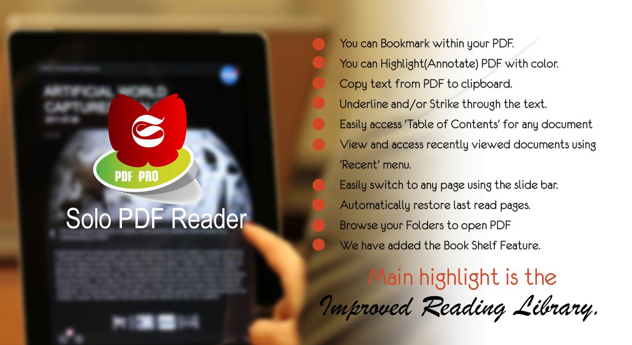 solo pdf reader