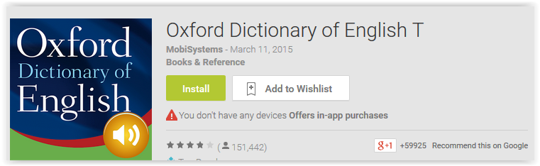 Oxford Dictionary of English T