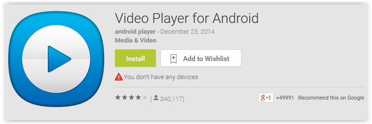 Top 7 Most Popular Video Player Apps for Android