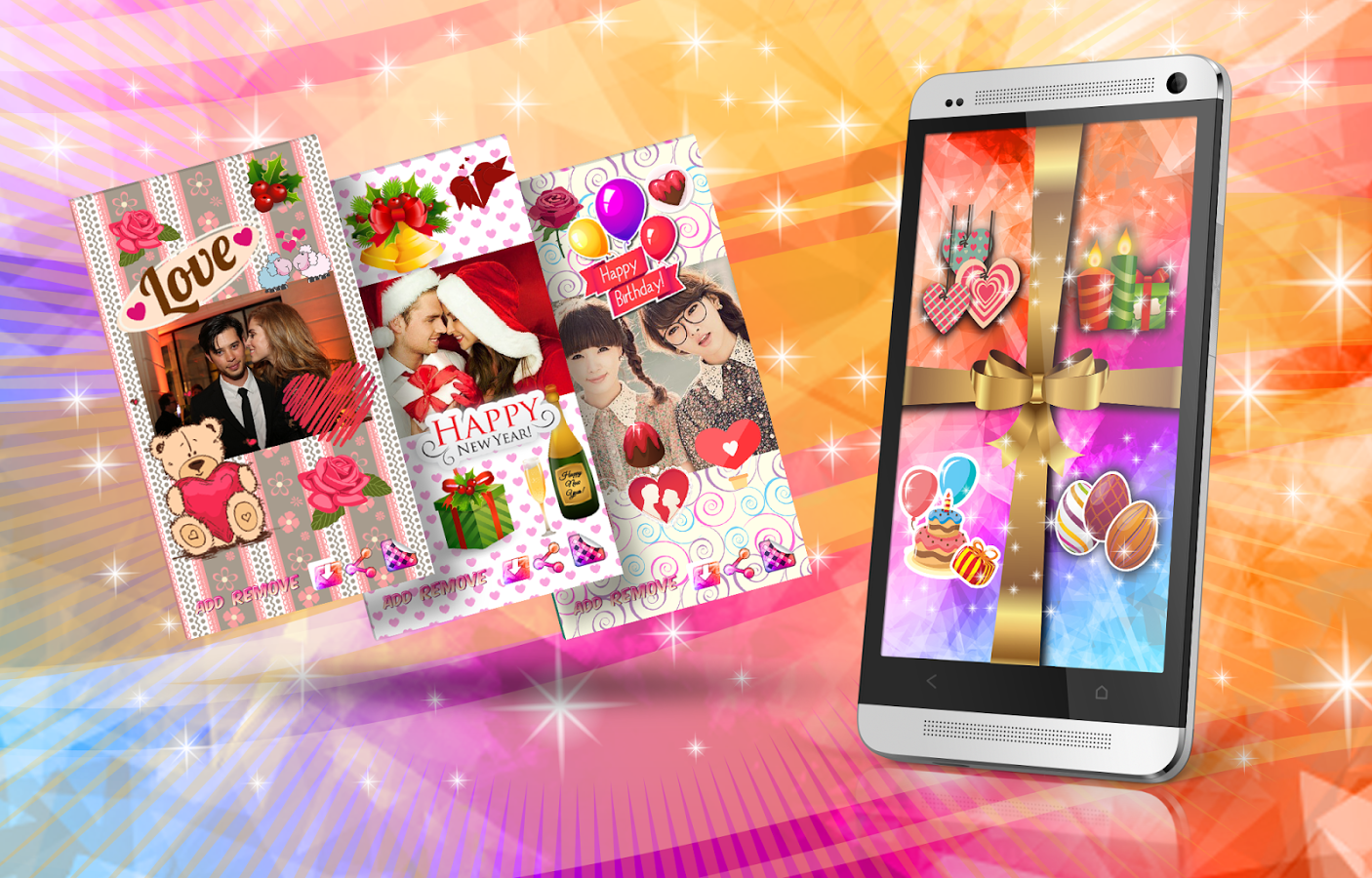 top  greeting card apps for android to show your love, Birthday card