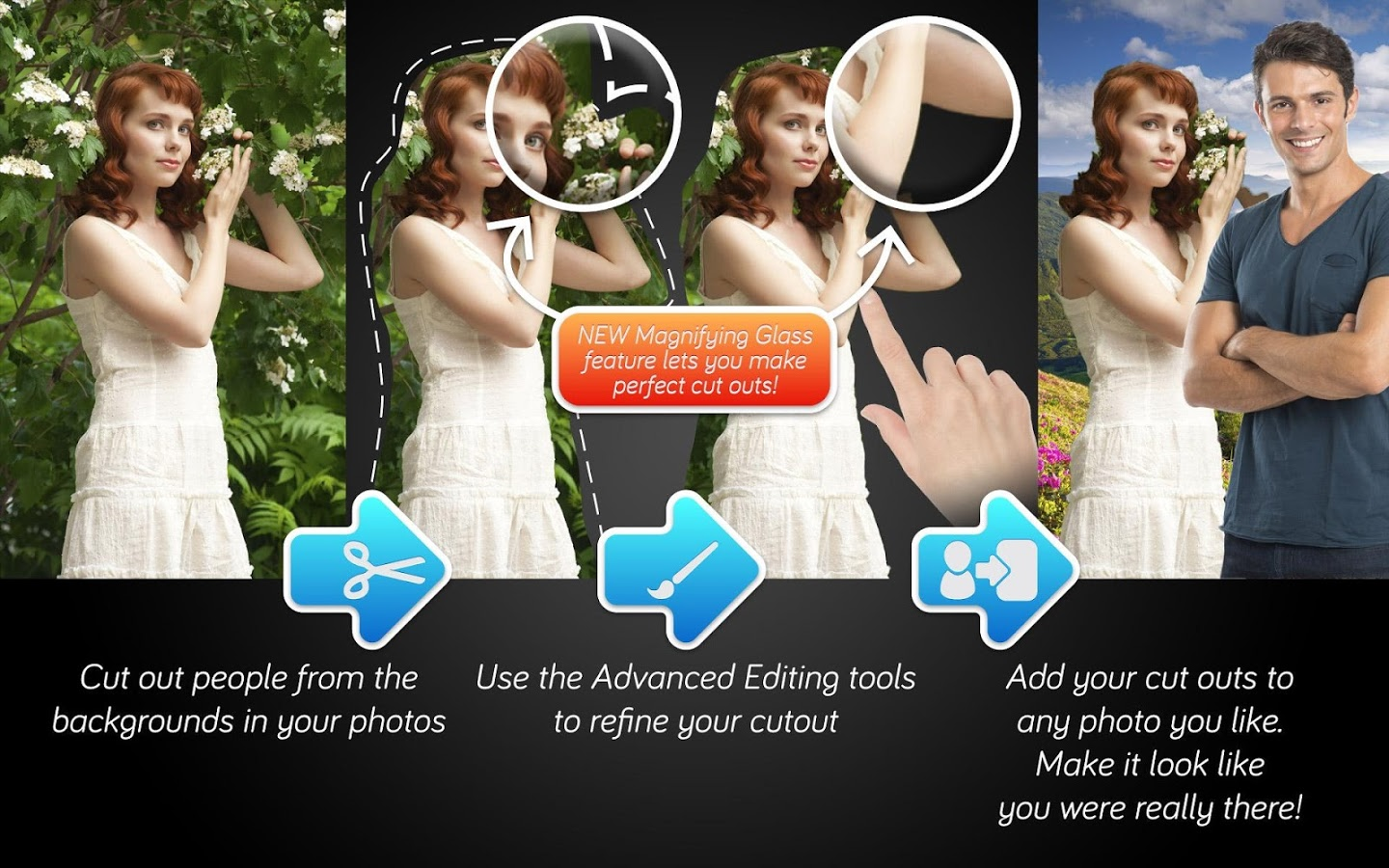 Top 7 Cut Paste Photo Apps for Android to change Photo