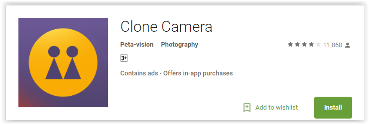 Top 7 Clone Camera Apps for Android to Clone your Photo