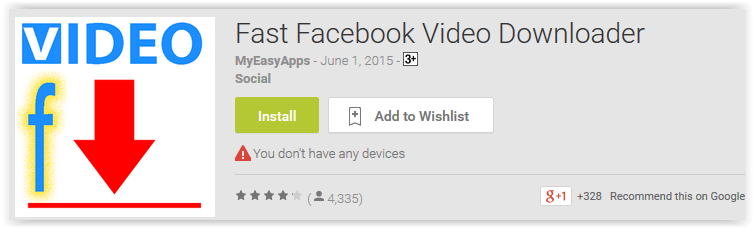 Fast Facebook Video Downloader