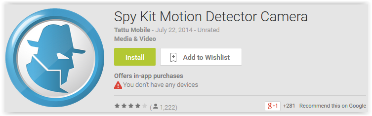 Spy Kit Motion Detector Camera Spy Kit Motion Detector Camera
