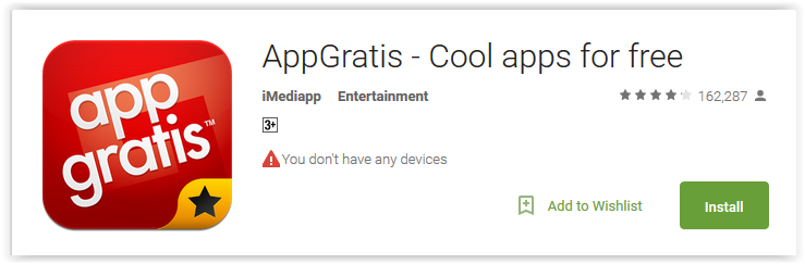 AppGratis - Cool apps fro free