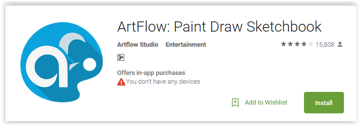 Artflow android app এর ছবির ফলাফল