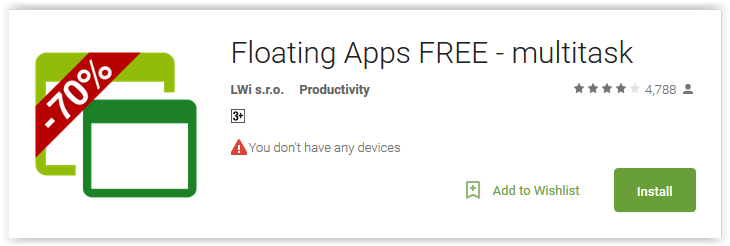 Floating Apps FREE - multitask