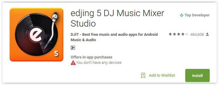 Top 7 DJ Apps for Android to Mix Music