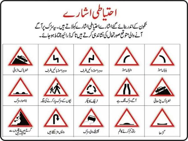 Pakistan Road Sign Learning Apps For Android