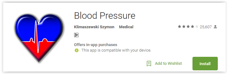 best blood pressure monitor apps for android