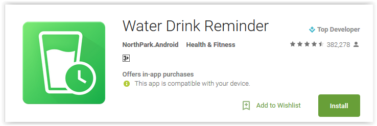 Water Drink Reminder