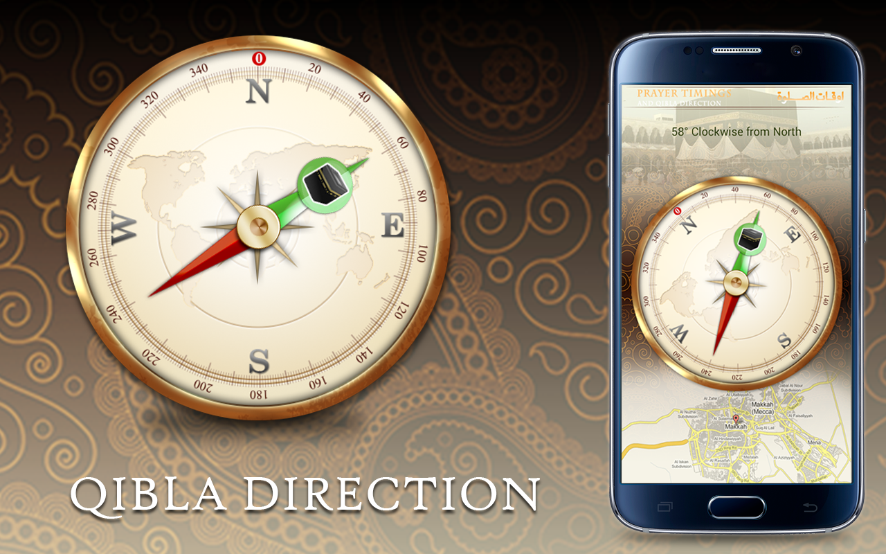 Best Qibla Direction Finder apps for android on prevailing wind direction, change direction, one direction, earth's rotation direction, azimuth direction,
