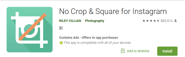 Best Android Apps to Make Square Size Photos