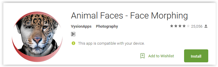 Best Animal face Changer Apps for Android