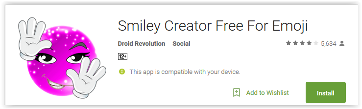 Smiley Creator Free For Emoji