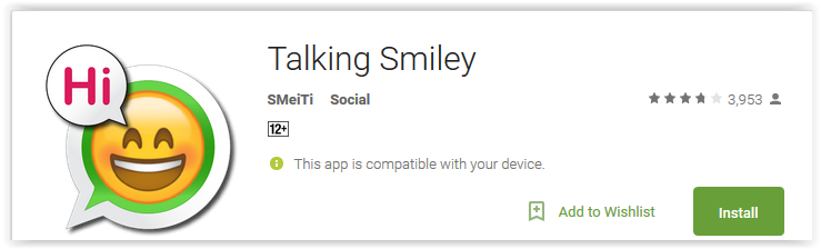 Talking Smiley