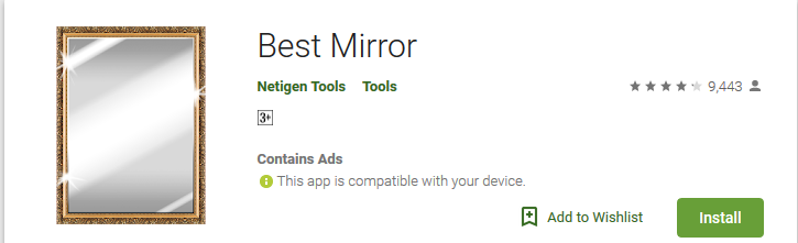 Best Mirror Apps for Android to See your Face