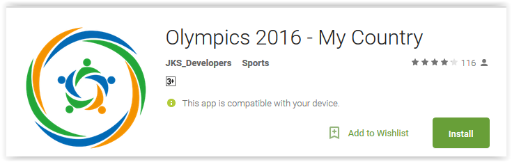Olympics 2016 - My Country