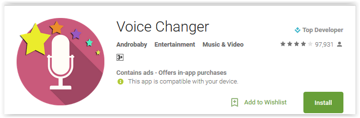 Top 7 Voice Changer Apps for Android