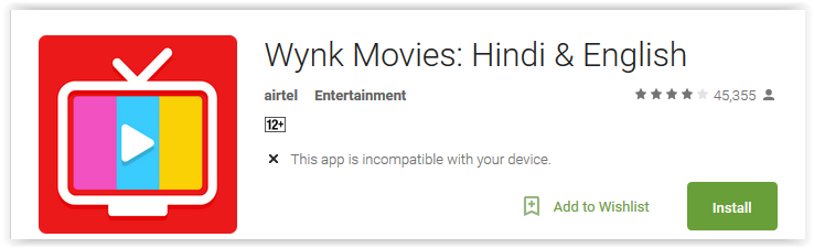 Wynk Movies Hindi & English