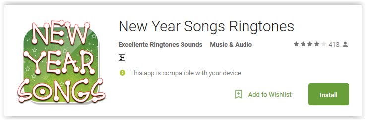 New Year Songs Ringtones