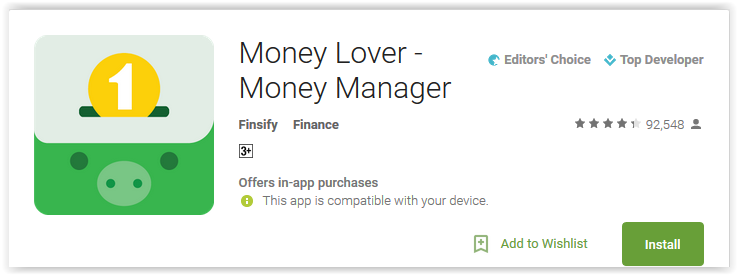 Money Lover - Money Manager