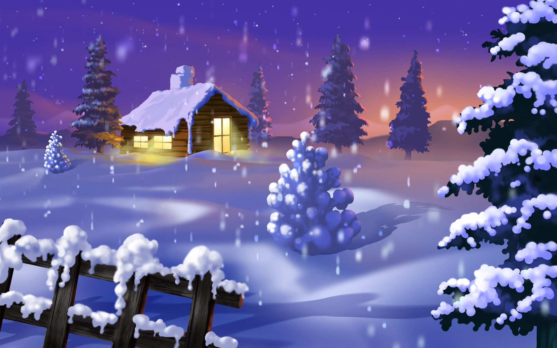 Top 7 beautiful winter snow live wallpapers for android for Holiday themed facebook cover photos