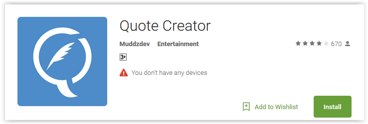 Top 3 Quote Maker Apps For Android To Create Your Own Quotes